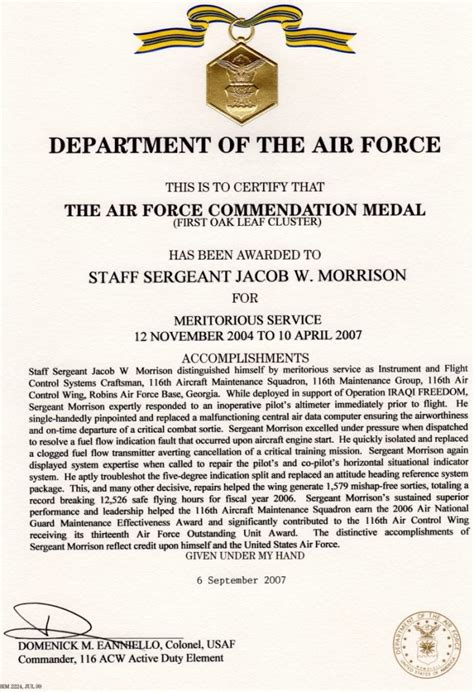 recognition jacob morrison