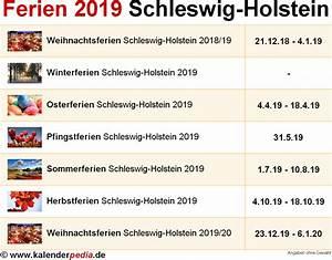 Ferien Nrw 2018 19 : ferien schleswig holstein 2019 bersicht der ferientermine ~ Buech-reservation.com Haus und Dekorationen