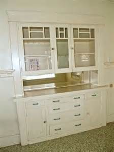 built in buffet with pass through space put glass on the