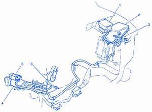 Chevrolet Astro Van 2003 Underhood Electrical Circuit