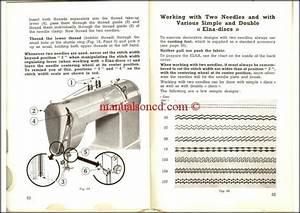 Elna Supermatic 2 Sewing Machine Instruction Manual