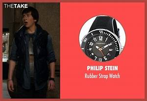Skyler Gisondo Philip Stein Rubber Strap Watch from Night ...