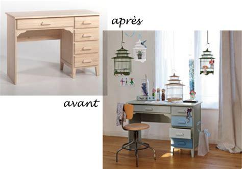repeindre bureau bois les meubles en bois brut