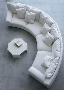 the, semicircular, sofa, in, fabric, ben, ben, , arflex