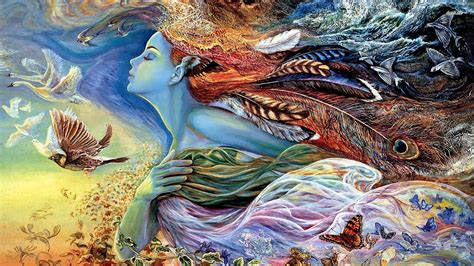 Mother Nature Artistic Wallpaper Dreamlovewallpapers