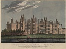 A View of Richmond Palace fronting the River Thames ...