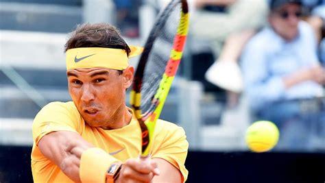 Надаль - Фоньини (2:0) 12 октября 2017. ATP. 2017. Шанхай. Протокол матча