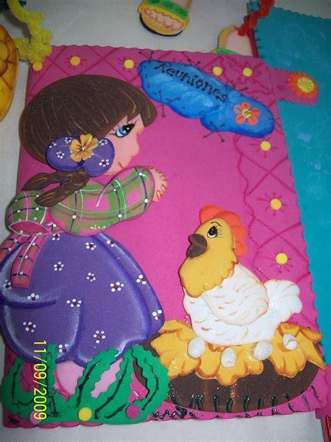 imagenes de portadas para carpetas hechas de foamy imagui