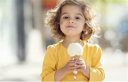 Ice Cream Festival Manna Eating Kid Cafe