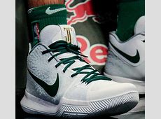Rookie Jayson Tatum Rocked a Nike Kyrie 3 PE with His Own