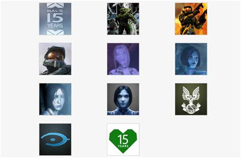 Check Out The New Xbox And Halo 15th Anniversary Gamerpics On Msft