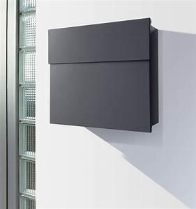 Namensschild Für Briefkasten : radius briefkasten letterman 4 anthrazitgrau ral 7016 ~ Whattoseeinmadrid.com Haus und Dekorationen