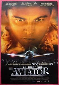 The Aviator Thai Movie Poster 2004 Leonardo DiCaprio | eBay