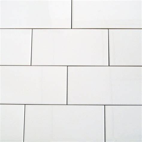 tiles bunnings duratile 25 x 40cm gloss white wall tile 10 pack