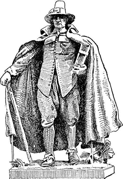 puritan clipart