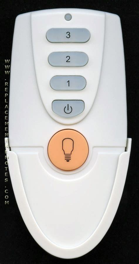 Ceiling Fan Manual Remote by Buy Hton Bay L3hfan51t Fan 51t Fan51t White Fan51tw