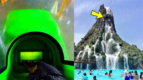 2 Trap Doors Water Slides Pov