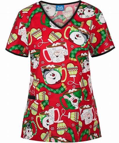 Pediatric Scrubs Nursing Nurse Scrub Uniform Tops