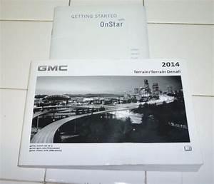 Purchase 2014 Gmc Terrain Owners Manual Set 14 Denali