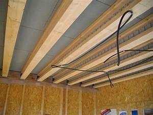 Plancher Bois Etage : visite technique d 39 une maison en ossature bois pour les ~ Premium-room.com Idées de Décoration