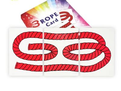 ropes card trick jumbo tricksupply