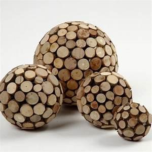 Deko Mit Holzscheiben : styroporkugeln mit holzscheiben diy anleitung holzdeko pinterest styroporkugeln ~ Buech-reservation.com Haus und Dekorationen