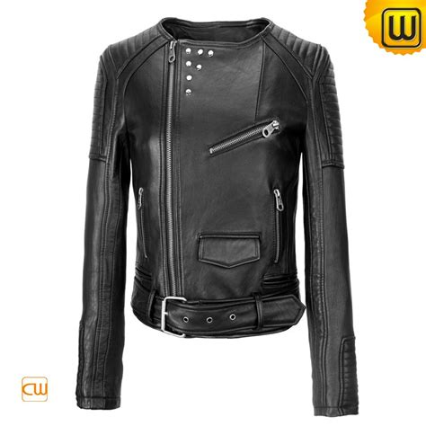 gear motorcycle jacket women black leather motorcycle jackets cw608119
