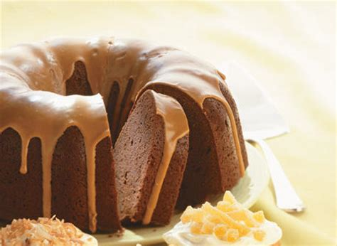 Chocolate Cream Cheese Pound Cake with Mocha Drizzle