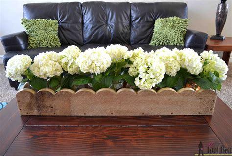 Scalloped Planter Box Centerpiece