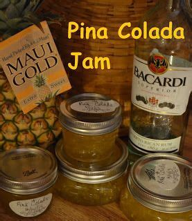 Unlike most cocktails it does not have to be made in the drink mixer. a Latte' with Ott, A: Pina Colada Jam | Canning recipes ...