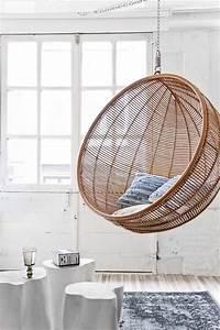 Fauteuil Suspendu Osier : fauteuil suspendu balancelle d co design et cocooning ~ Teatrodelosmanantiales.com Idées de Décoration