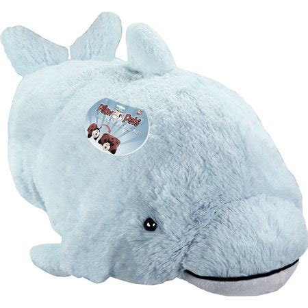 wee pillow pets as seen on tv pillow pet wee squeaky dolphin