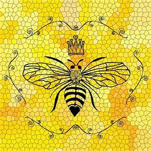 Queen Bee Art Print by Lisa Argyropoulos Society6