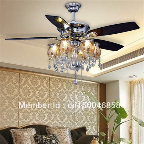european chandeliers fan ceiling fan light minimalist