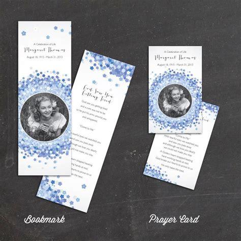 forget   flowers prayer card memorial card funeral