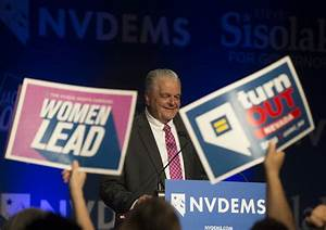 Steve Sisolak becomes Nevada's first Democratic governor ...