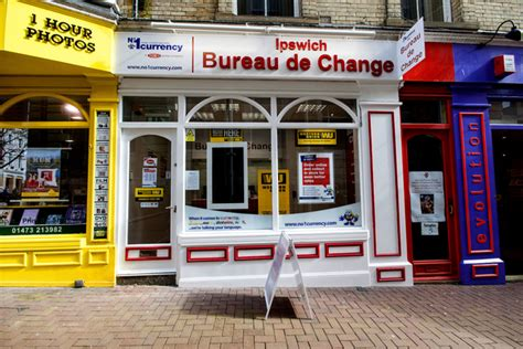 bureau de change 15鑪e no 1 currency exchange ipswich
