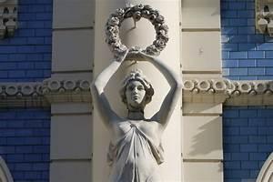 Jugendstil Florale Ornamente : jugendstil in riga alptr ume aus stuck sirenen heuler ~ Orissabook.com Haus und Dekorationen