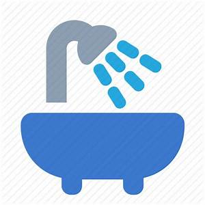 Bath, bathe, bathroom, sanitation, water icon Icon