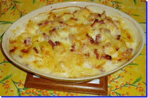 tartiflette au fromage raclette 224 la moutarde recettes