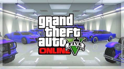 Gta 5 Online Garage Tour! Gta Online Rare & Super Cars