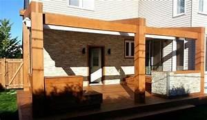 poutres de bois pin blanc et pruche bois excel With colonne de bois exterieur