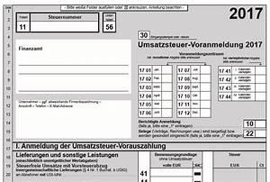 Zahllast Berechnen : umsatzsteuervoranmeldung formular 2017 elster jetzt ~ Themetempest.com Abrechnung