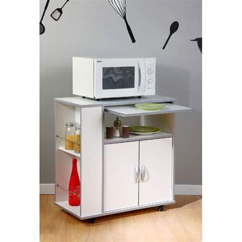 meuble billot cuisine ready desserte de cuisine 76cm blanc achat vente