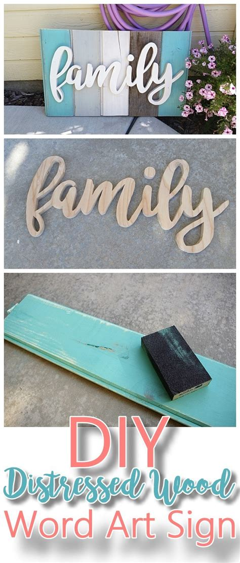 Do It Yourself Projects For Home Decor by New Old Distressed Barn Wood Word Indoor Outdoor
