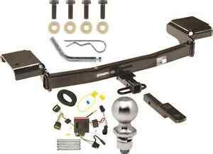 Kium Sportage Hitch Wiring by Complete Trailer Hitch Package W Wiring Kit For 2011 2016