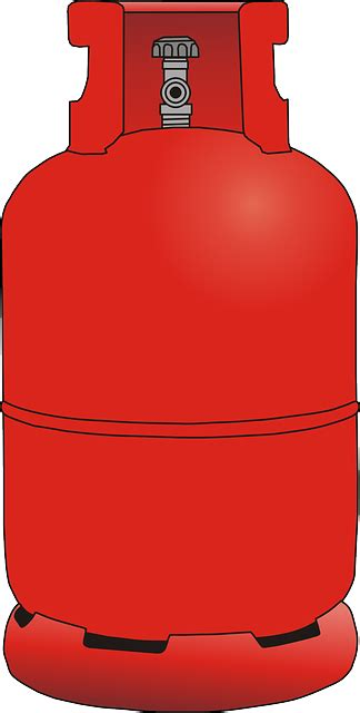 Gas Clipart Gas Container Bottle 183 Free Vector Graphic On Pixabay