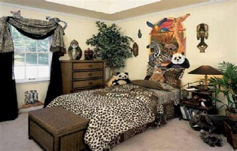 Safari Decor For Living Room by Cheap Decorating Ideas For Kids Rooms With Animal Jungle