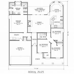 simple floor plan design – Modern House