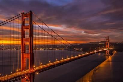Francisco 4k San Bridge California Gate Golden
